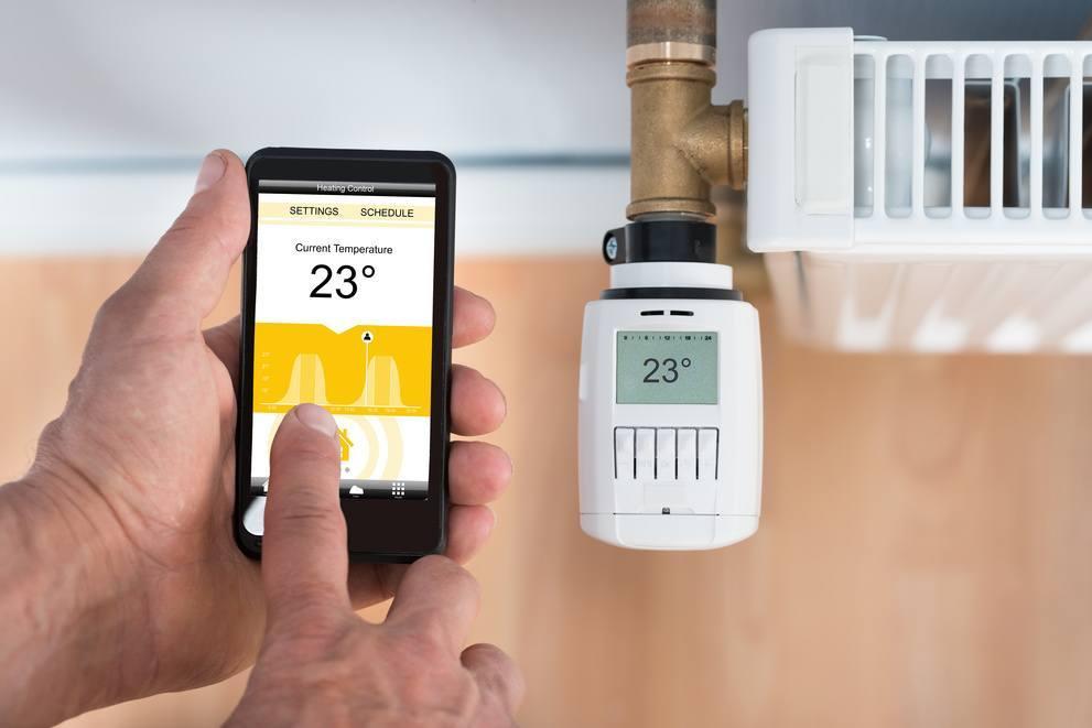 climate controls s h a r k smart home automation. Black Bedroom Furniture Sets. Home Design Ideas