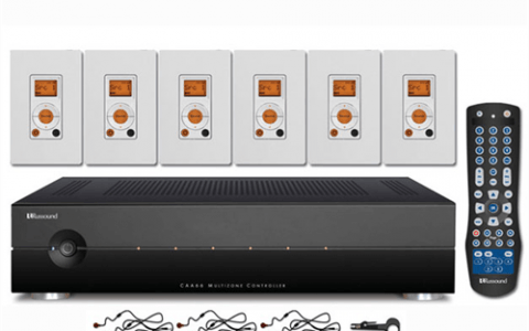 Play your music anywhere with a Russound whole-house music system