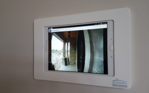View you cameras and intercoms on any home tablet or smartphone
