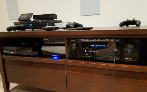 Denon Receivers bring powerful sound to your home theater setup.